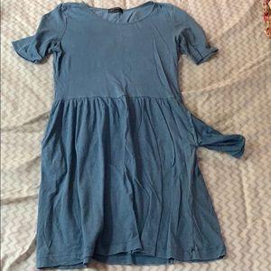 baby blue gap dress